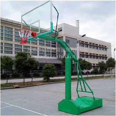 广州纤维板篮球架 平箱移动式纤维板篮球架透明篮球架 玻璃钢纤维板篮球架可定做