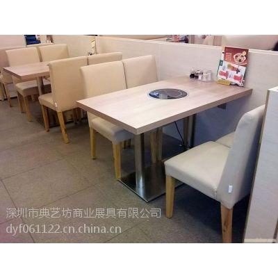 深圳龙岗餐厅桌椅厂家定制 快餐厅家具厂家定制