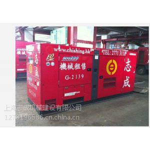 供应上海有租赁发电机的130KW~200KW全国上门服务