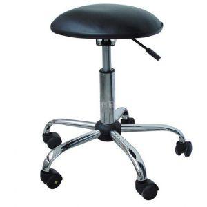 供应PU皮革防静电升降圆凳椅