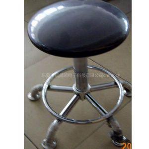 供应东莞防静电圆凳 皮革升降圆凳 无尘室圆凳