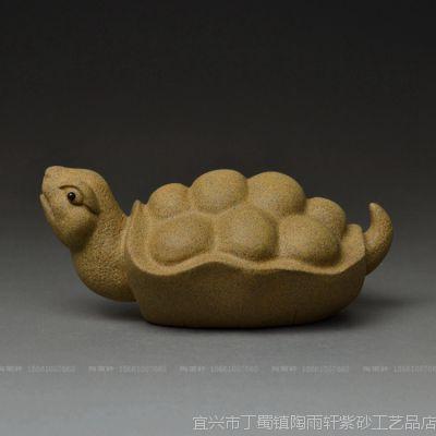 供应龟龙*宜兴紫砂茶宠批发名家手工摆件茶玩厂家图片SX285