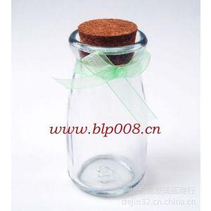 批量供应5095装饰奶瓶普通玻璃摆饰工艺玻璃瓶