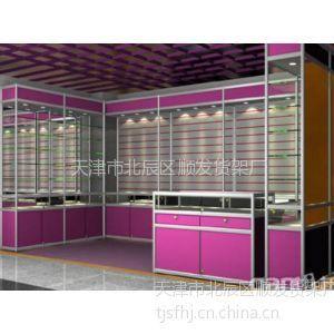 供应天津货架超市货架商场展柜货架专业制造厂家天津顺发货架厂