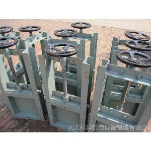 优惠供应优质手动插板阀-除尘生产厂家***