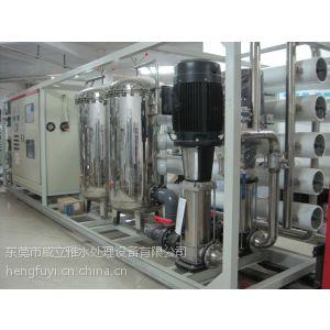 威立雅肇庆50T/h一级反渗透 混床超纯水设备