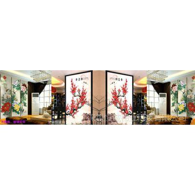 深圳恒诚伟业生产厂家 玻璃打印机瓷砖背景墙打印机HC-6120UV万能打印机设备质量
