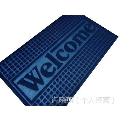 厂家直销/长方形浴室门口厨房卫生间地垫红色蓝色不规格定做门垫