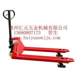 供应供应惠州深圳东莞手动式卡板车液压平台车堆高车油桶车