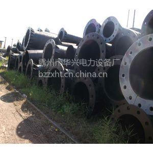 供应黑龙江10KV电力杆及钢桩基础