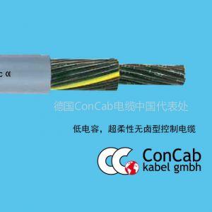 供应拖链电缆PUR-574_低电容,超柔性无卤型控制拖链电缆