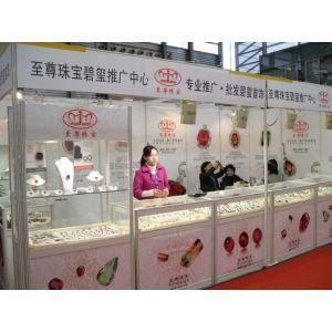 供应深圳书画展板制作 铝料高低展示柜搭建