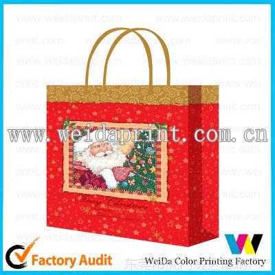 供应圣诞礼品纸袋,手提纸袋印刷设计