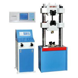 供应WE-1000B数显式液压万能试验机报价,1000KN,100吨材料试验机,100T拉伸试验机