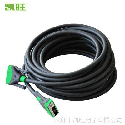 厂家高端DVI24+1工程级布线凯旺装修布线高清线终身保修