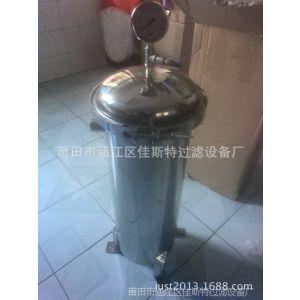 供应小型食用油过滤器 布袋式滤油过滤机 除毛油中悬浮杂质沉淀just01