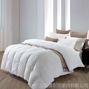 供应康尔馨 棉被 酒店冬被 加厚羽毛绒被 单人双人被 五星级酒店鹅毛被芯