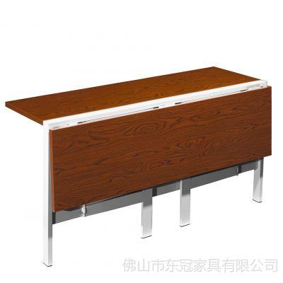 厂家供应优质会议条形百变折叠台可以随意组合条台