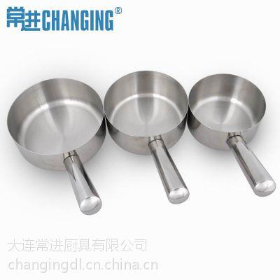 供应常进正品 特厚不锈钢水勺 水瓢 水壳 水舀