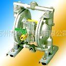 供应QBY-25铸铁带普通膜片多用气动隔膜泵 苏州隔膜泵销售 苏州油漆专用泵