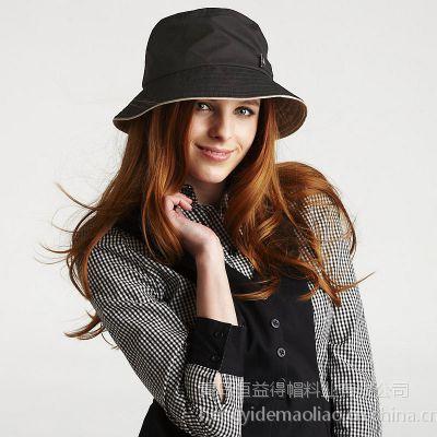 青岛生产帽子工厂恒益得供应定做各种男女式帽子渔夫帽太阳帽旅游帽棒球