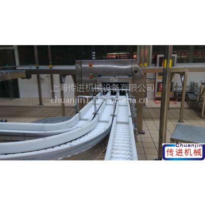 供应柔性链板输送机,铝型材专用链板输送机