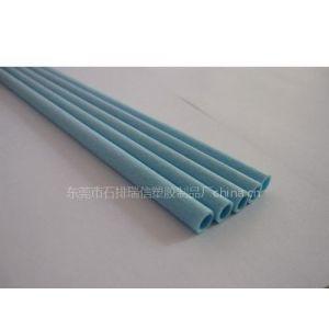 供应蓝色ABS发泡管 Φ7×Φ5mm