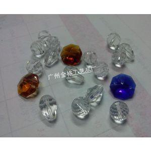 供应水晶刻面珠 10mm 穿孔 颜色齐全