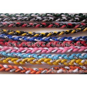 供应【新品热销】大联盟红袜队钛项链 钛项圈 钛项环