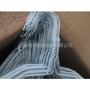 供应2.3MM白色金属丝衣架/一次性衣架/晾衣架/便宜衣架/干洗店衣架