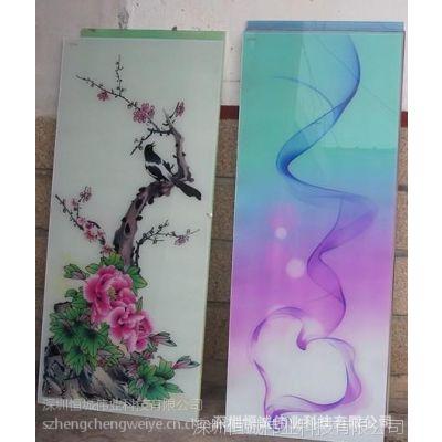 玻璃UV平板彩印机/玻璃万能平板打印机/玻璃画数码彩印机售后无忧