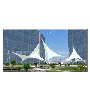 供应景观张拉膜结构具有很高的观赏价值,具有很好的遮阳隔热效果