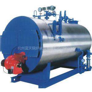 供应4 吨/小时卧式燃气燃油蒸汽锅炉