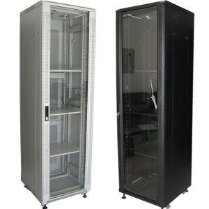 哈尔滨网络机柜 图腾服务器机柜批发,监控电视墙操作厂家定做 42U机柜是多高?