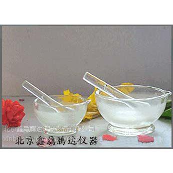 北京特价产销玻璃研钵60mm型