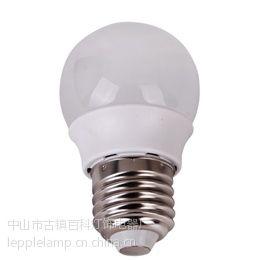 供应LED小功率球泡 LED塑料球泡灯 2W