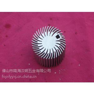 供应工矿灯太阳花 大功率LED散热器 太阳花铝型材 工业铝材 流水线铝材 铝型材价格