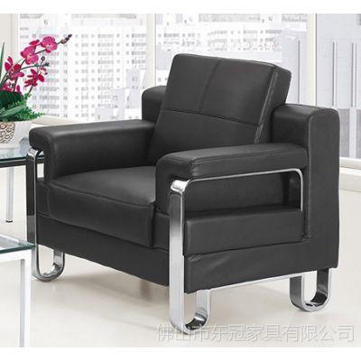 供应济南办公家具厂家直销广东五金办公家具办公椅休闲真皮沙发梳化