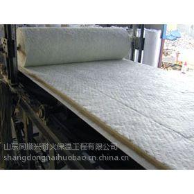 供应粘土砖厂耐火隔热节能专用陶瓷纤维甩丝毯 硅酸铝毯