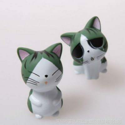 厂家专业塑胶搪胶,公仔,玩具喷涂喷油加工,可爱小猫,价格优惠