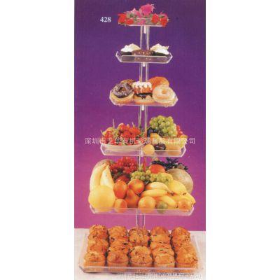 亚克力展示架,亚克力蛋糕架,亚克力蛋糕展示架,亚克力小展架