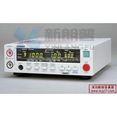 日本菊水KIKUSUI|绝缘电阻测试仪TOS7200
