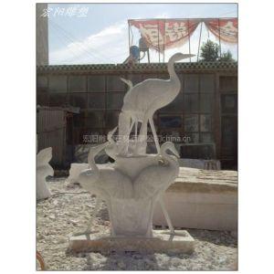 供应石雕仙鹤