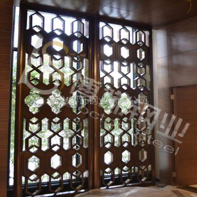 供应广元304不锈钢屏风厂家价格 不锈钢酒店专用屏风销售