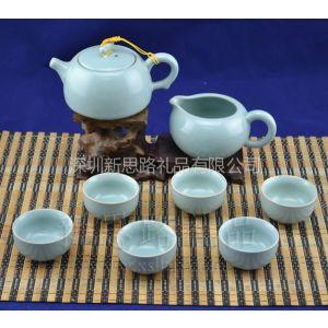 供应青瓷 茶具 礼品套装 和风 日式 手绘 有田烧风格
