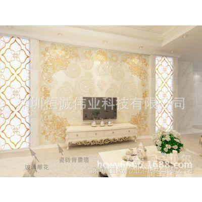 3d立体浮雕壁纸打印机/无纺布墙纸印刷机/电视背景墙墙纸打印设备