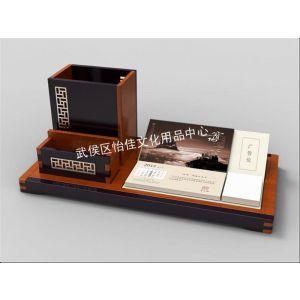 供应红木台历定制 红木礼品定制 红木台历组合套装 成都工艺礼品定制