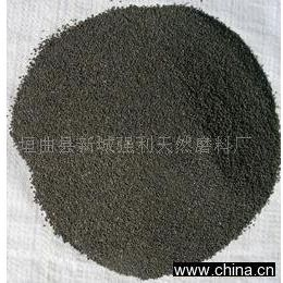 供应天然磨料金刚砂(石榴石)