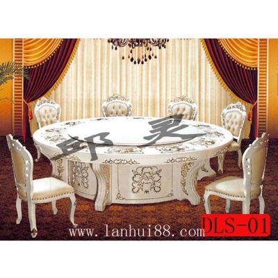 供应大理石转盘餐桌/家用圆形餐桌价格/16人圆餐桌尺寸
