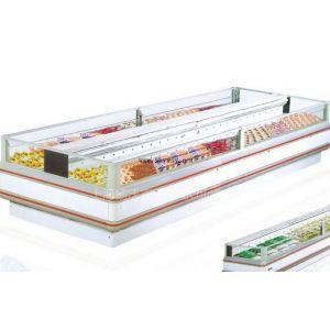 供应海尔开利食品保鲜柜 超市双岛柜 风冷冷藏柜 风冷冷冻柜